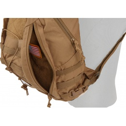 Mil-Spec Monkey Tactical MOLLE Adapt Pack - MARINE COYOTE