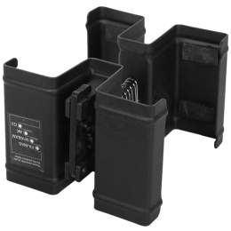 Full Metal Airsoft M4 M16 AK Double Magazine Clamp Adjustable