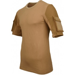 Lancer Tactical Specialist Adhesion Arms T-Shirt - COYOTE BROWN