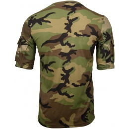 Lancer Tactical Specialist Adhesion Arms T-Shirt - WOODLAND