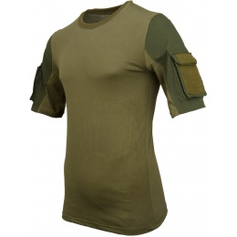 Lancer Tactical Specialist Adhesion Arms T-Shirt - GREEN