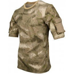 Lancer Tactical Specialist Adhesion Arms T-Shirt - A-TACS ARID URBAN