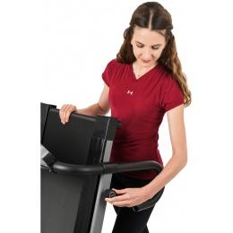AuWit 600W Motor Fitness Machine w/ Folding Treadmill - BLACK