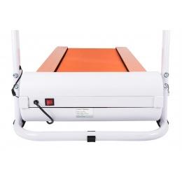 AuWit 600W Motor Fitness Machine w/ Folding Treadmill - ORANGE