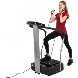 AuWit 500W Digital Motor Balance Fitness Platform Machine - BLACK