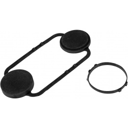 FMA Nylon Flexible NVG PVS18 Lens Cover for Dummy NVG - BLACK