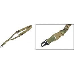 AMA One Point Tactical Bungee Sling - MULTICAM