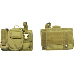 AMA Tactical Airsoft Triad Admin Pouch - KHAKI