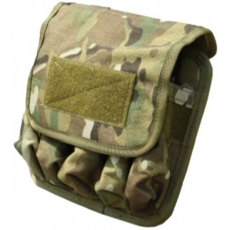 AMA T0991-M 5 in 1 Airsoft MOLLE Magazine Pouch - CAMO