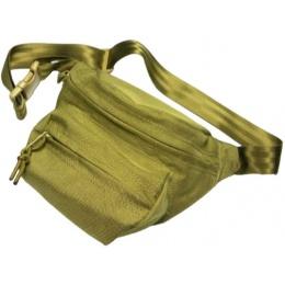 AMA 500D Cordura Low Pitched Waist Essentials Pack - KHAKI
