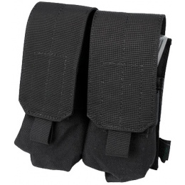 AMA Airsoft Nylon M4 Tactical Double Mag Pouches - BLACK