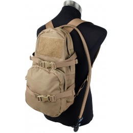 AMA Quick Detach Tactical Hydration Backpack - COYOTE BROWN