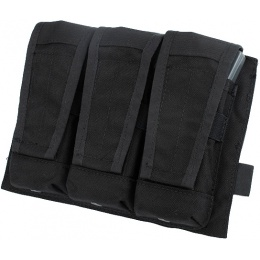 AMA Tactical Triple Magazine MOLLE Pouch - BLACK