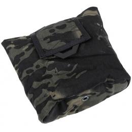 AMA QUOP 500D Tactical MOLLE Dump Pouch - CAMO BLACK