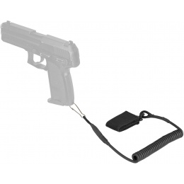 WoSport Nylon Multifunctional Pistol Lanyard Sling - BLACK