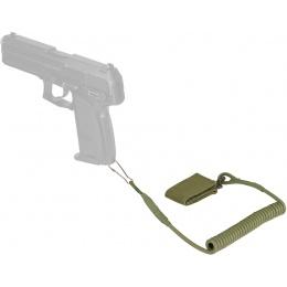 WoSport Nylon Multifunctional Pistol Lanyard Sling - OLIVE DRAB