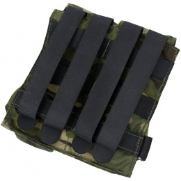 AMA Tactical QUOP Double Mag Pouch - CAMO TROPIC