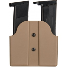 AMA Tactical Double Pistol Magazine Belt Holster - TAN