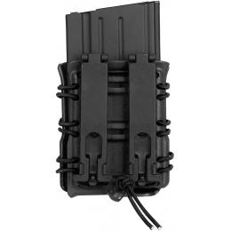 AMA High Speed SR25 / M14 / MK17 Magazine MOLLE Pouch - BLACK