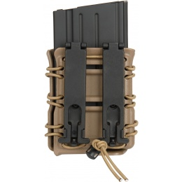 AMA High Speed SR25 / M14 / MK17 Magazine BELT Pouch - DARK EARTH