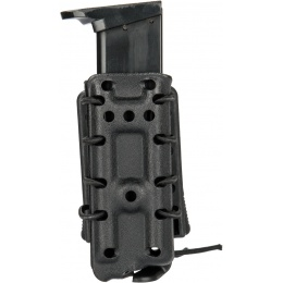 AMA High Speed Airsoft Pistol Magazine Belt Clip Pouch - BLACK