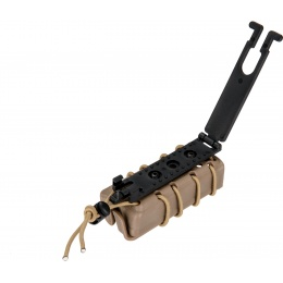 AMA High Speed Airsoft Pistol Magazine MOLLE Pouch - TAN