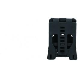 AMA Tactical Polymer Interchangeable Belt Pouch Clip - BLACK