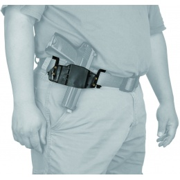 AMA ABS Polymer Tactical Airsoft Pistol Belt Holster - BLACK