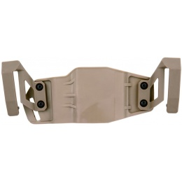 AMA ABS Polymer Tactical Airsoft Pistol Belt Holster - TAN