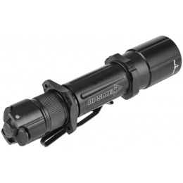 OPSMEN Tactical 1000-Lumen Strobe Flashlight - BLACK