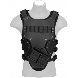 AMA Tactical TF3 High Speed Mag Strap Body Armor - BLACK
