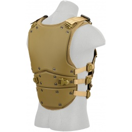 AMA Tactical TF3 High Speed Mag Strap Body Armor - TAN