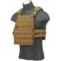 AMA Tactical Adaptive Airsoft Tactical Vest - COYOTE BROWN