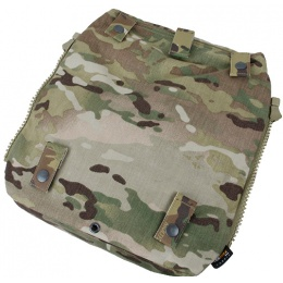 AMA Zipper Back Panel Attachment Pouch - CAMO