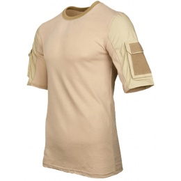 Lancer Tactical Specialist Adhesion Arms T-Shirt - TAN