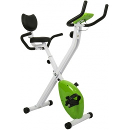 AuWit Top Level Magnetic Exercise Bike w/ Tension Control - GREEN