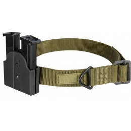 AMA Tactical Double Pistol Magazine Belt Holster - BLACK