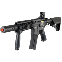 DBoys M4 CQB-SD Metal Airsoft AEG Rifle - Gun Only - BLACK