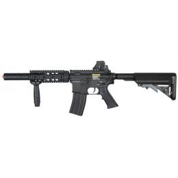 DBoys M4 CQB-SD Metal Airsoft AEG Rifle - Gun Only - BLACK
