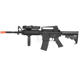 Dboys Airsoft Metal M4 RIS AEG Rifle - Gun Only - BLACK