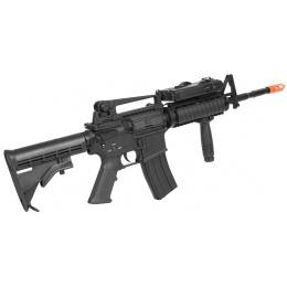 Dboys Airsoft Metal M4 RIS AEG Rifle - Gun Only - BLACK