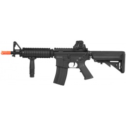 DBoys Airsoft Metal M4 CQB-R AEG Rifle - Gun Only - BLACK