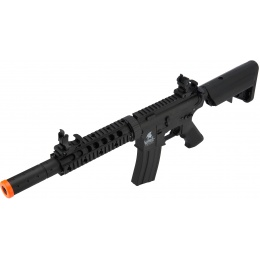 Lancer Tactical M4 SD GEN 2 Polymer AEG Airsoft Rifle - BLACK