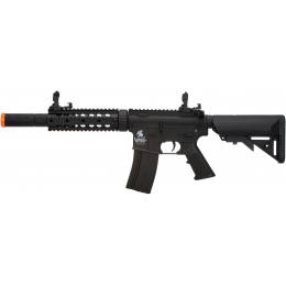 Lancer Tactical M4 Low FPS SD GEN 2 Polymer AEG Airsoft Rifle - BLACK