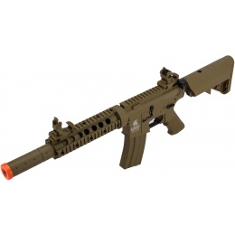 Lancer Tactical M4 SD GEN 2 Polymer AEG Airsoft Rifle - TAN