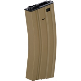 Lancer Tactical Gen 2 Hi-Cap AEG Airsoft Training Metal Magazine - TAN