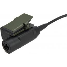 AMA Tactical Airsoft Motorola U94 03 Style Kenwood - BLACK