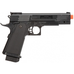 UK Arms Spring Scaled Airsoft 1911 Pistol in Poly Bag - BLACK