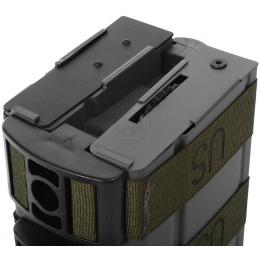 BattleAxe Dual 900rd M14 Airsoft AEG Auto-Winding High Capacity Mag