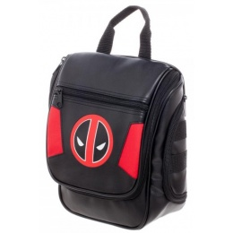 Bioworld Deadpool Logo Travel Toiletry Dopp Kit - BLACK